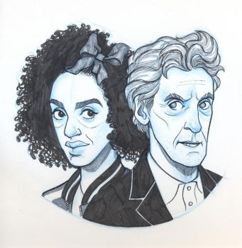 Twelve and Bill by sn0otchie