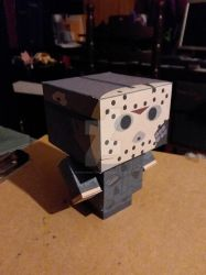 Jason Voorhees Part 7 CubeeCraft by SuperVegeta71290