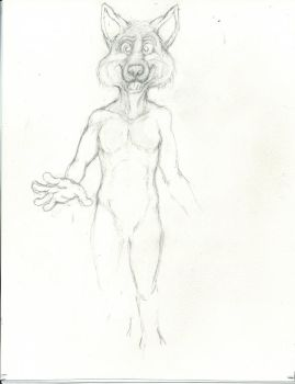 New Style of anthropomorphic character  W.I.P by CosmoCoyote