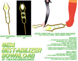 [SU] Gem Destabilizer DOWNLOAD by TheAwesomeMooMoo