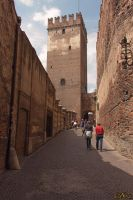Castelvecchio Behind the Walls Verona 69 by BillyNikoll