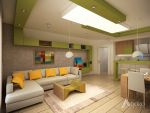 Fresh Living Room Interior Design by adorodesign
