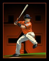 Buster Posey - SF Giants by akira337
