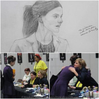 Meeting Louise Brealey at Sherlocked 2016 by ArwendeLuhtiene