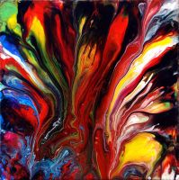 Fluid Painting 48 by Mark-Chadwick