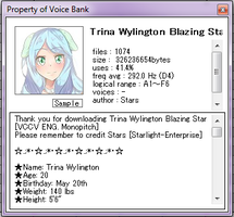 Trina Wylington Blazing Star ENG [Monopitch] DL by Starlight-Enterprise