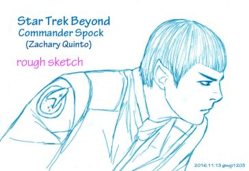 Star Trek Beyond Spock #2 by noji1203