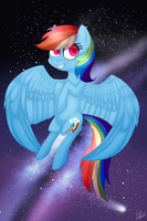 Rainbow Dash (redraw) by Serri765