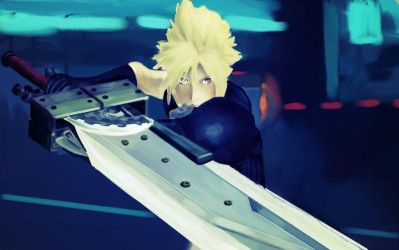 Cloud  Dissidia NT (Arcade) by Yuma76