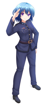 COM2016 - Officer Sentoki by Kazenokaze