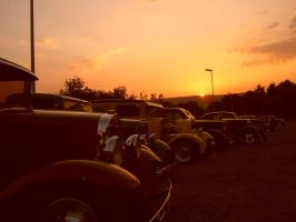 Street Rods line up by Caliart