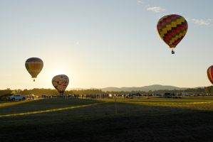 Adirondack Balloon Festival,Float Away at Sunset by Miss-Tbones