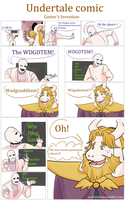 Undertale comic: Gaster's invention [READ BELOW] by atomicheartlight