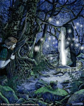 Faerie Mysteries - Bright Lands Portal by mli13