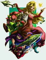 Secret of Mana: Heroes by karniz