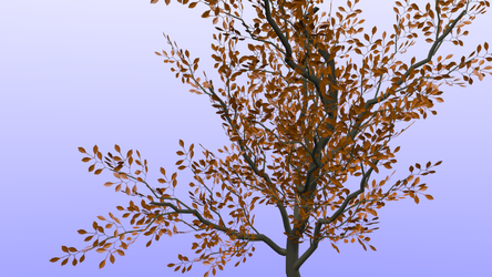 Blender: Deciduous Tree by Izzi1313