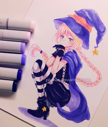 Witch by Pluvias