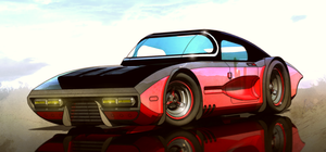 Bomber coupe (Higher res) by aconnoll