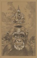Second Sight of the Monkey King by stevenrussellblack