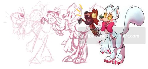 Mangle the Ventriloquist 2.0 by miikanism