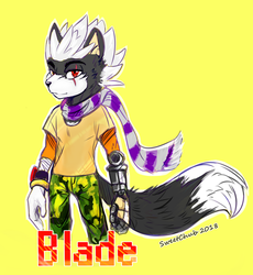 Blade (Request) by SweetChub