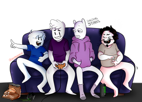 OneyPlays- some boys doing some letsplays by DreamyBeaches