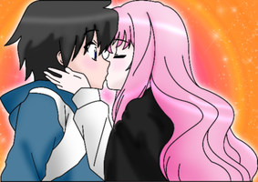 Saito and Louise by zomgspongelolbob48