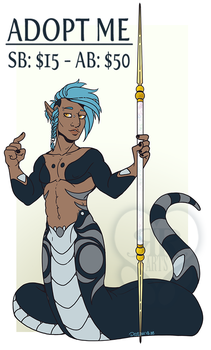 Male Naga Adopt Auction: CLOSED by RottingRoot