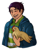 chicken boy by i0n4