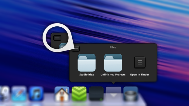 Mac OS X Dock Menu redesign v1.2 by rasiquiz