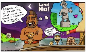 Land Ho! by Adam-Clowery