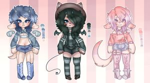 Femboy fest[adopts][closed] by Inky-chi