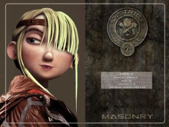 Astrid in Hunger Games by Fate221