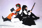 D.gray-man: Lavi and Kanda by NeeYumi