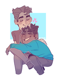 Gay Dads by mikarons