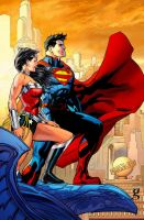 Superman/Wonder Woman - Epic (New 52 edition) by godstaff
