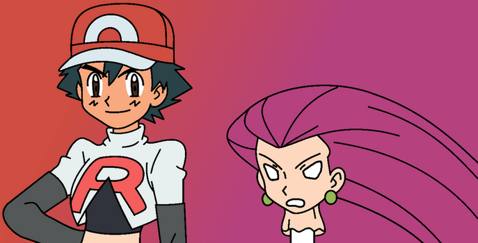 Ash to Jessie Disguise by Vanvan529