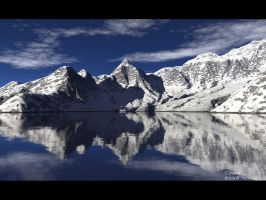 Clear II - Terragen by furryphotos