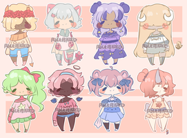 Large Adopt Batch [EACH 50 POINTS: CLOSED] by shortadopts
