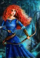 Merida (my version) by LouizBrito