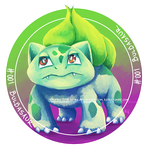 001 - Bulbasaur by Kirsui