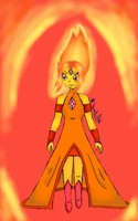 Flame Princess by Melomiku