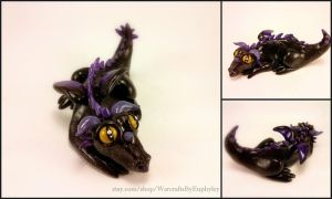 Baby Onyxia Dragon - World of Warcraft Inspired by Euphyley