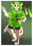 Forest Knight (AUCTION) - UNCOMMON MASKATZ (CLOSED by GreaserDemon