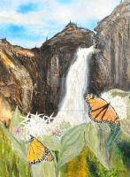 Monarchs on Milkweed Creatures  of Light 2 by Yosemite-Stories