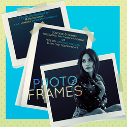 PNG'S PHOTO FRAMES ~ by HelenaGrimm