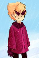 Dirk In Snow by abdomen94