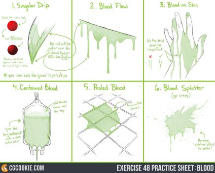 Exercise 48 Practice Sheet: Blood by CGCookie