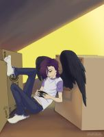 The Devil Is a Part Timer -- Lucifer by The-Z