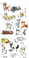 15 Feline Adopts OPEN by SillyPickles